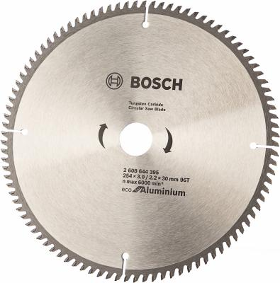 Диск пильный Bosch ECO AL 254 ммx30 мм 96зуб 2608644395 пильный диск bosch eco for wood 2608644383 254х30 мм
