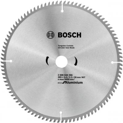 Диск пильный Bosch ECO AL 305 ммx30 мм 96зуб 2608644396 пильный диск bosch eco for wood 2608644383 254х30 мм