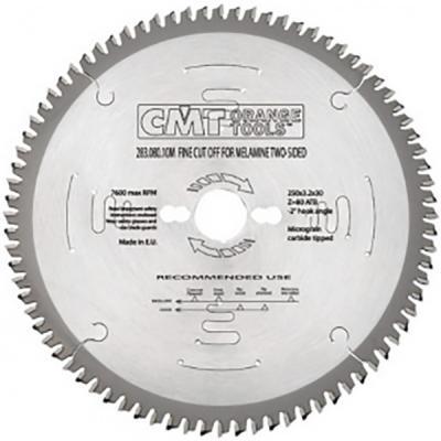 Круг пильный твердосплавный CMT 297.080.11M 260X30X2.8/2.2 -6° TCG Z=80 цена