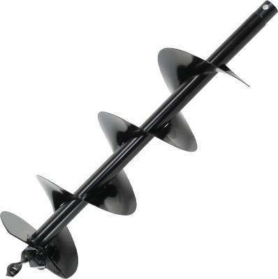 Шнек однозаходный для грунта DDE мотобура (однозаходный, ф = 100 мм, L = 800 мм, посадка на вал 20 м нож двухзаходный dde для грунта 150 мм пара dk 150
