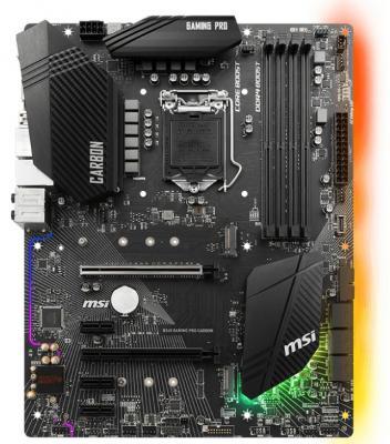 Материнская плата MSI B360 GAMING PRO CARBON Socket 1151 v2 B360 4xDDR4 3xPCI-E 16x 3xPCI-E 1x 6 ATX Retail