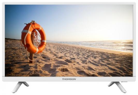 Телевизор LED 24 Thomson T24RTE1021 Белый, HD Ready, DVB-T2, HDMI, USB жк телевизор thomson t19e21dh 01b