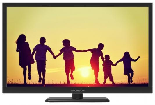 Телевизор LED 24 Thomson T24RTE1080 Черный, HD Ready, DVB-T2, HDMI, USB led телевизор philips 32pht4132 60 r 32 hd ready 720p черный