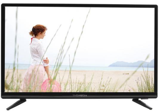 Телевизор Thomson T24RTE1020 черный телевизор thomson t43d19sfs