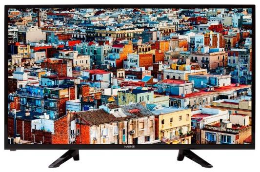 "Телевизор Harper 39R575T LED 39"" Black, 16:9, 1366x768, 80000:1, 250 кд/м2, USB, VGA, 3xHDMI, DVB-T, T2, C все цены"