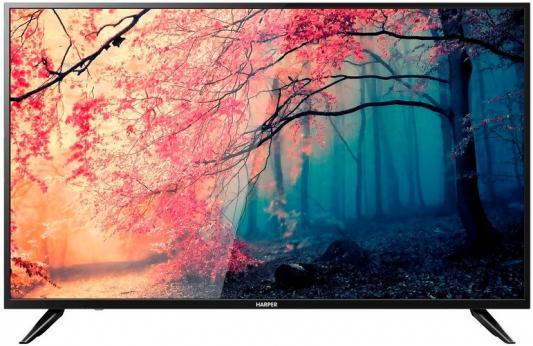 Телевизор Harper 49U750TS черный цена