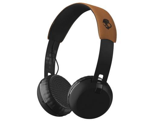 Гарнитура беспроводная Skullcandy GRIND WIRELESS Беспроводные, проводные / Полноразмерные с микрофоном / Черный, бежевый / Bluetooth, Mini-jack / 3.5 мм
