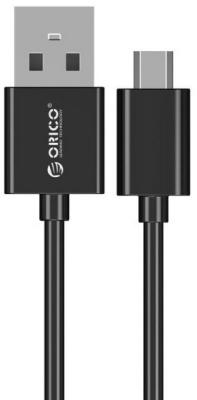 Кабель microUSB Orico ADC-05 круглый черный кабель microusb 1м orico круглый fdc 10 wh
