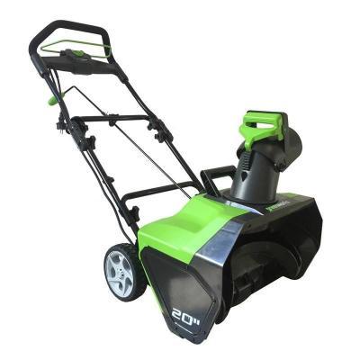 купить Электрический снегоуборщик Greenworks 1800W по цене 11990 рублей