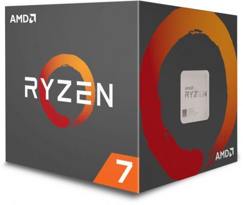 Процессор AMD Ryzen 7 2700X YD270XBGAFBOX Socket AM4 BOX процессор amd ryzen 7 2700x box 105w 8c 16t 4 35gh max 20mb l2 l3 am4 yd270xbgafbox