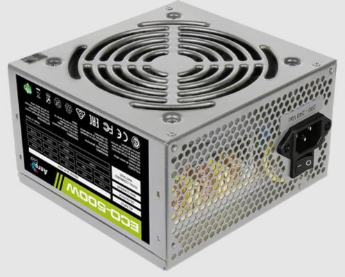 БП ATX 500 Вт Aerocool ECO-500W бп atx 500 вт thermaltake tr2 s 500w