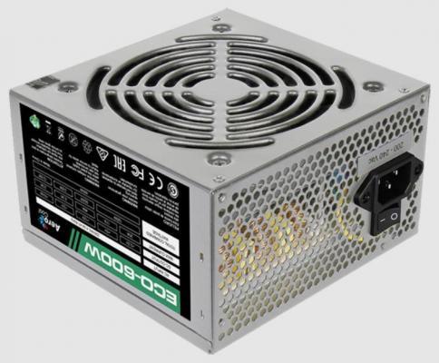 БП ATX 600 Вт Aerocool ECO-600W цена