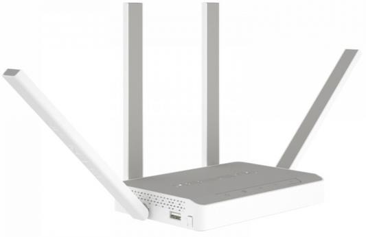Беспроводной маршрутизатор Keenetic Extra KN-1710 802.11abgnac 1267Mbps 2.4 ГГц 5 ГГц 4xLAN USB серый