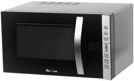 Микроволновая печь TESLER MG-2060 (20 литров, 700 Вт, механическое упр., черный) микроволновая печь bbk 23mws 927m w 900 вт белый