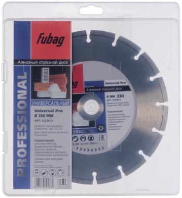 Алмазный диск Universal Pro_ диам. 230/22.2 инвертор fubag in 196