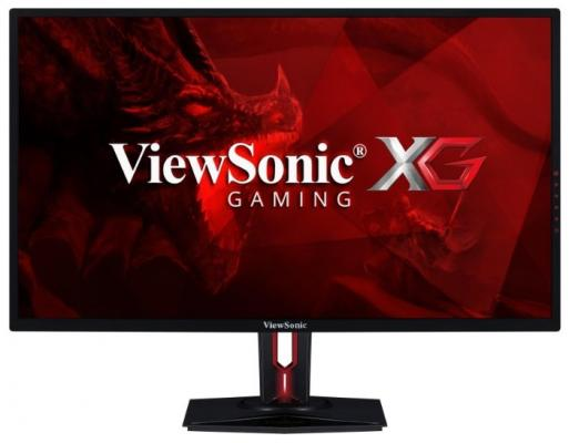 Монитор ViewSonic 32 XG3220 черный VA LED 5ms 16:9 DVI HDMI M/M матовая HAS Pivot 300cd 178гр/178гр 3840x2160 D-Sub DisplayPort USB монитор 32 asus pb328q черный va 2560x1440 300 cd m^2 4 ms dvi hdmi displayport аудио vga usb