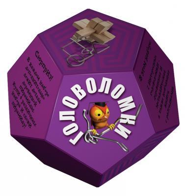 Головоломка НОВЫЙ ФОРМАТ 80370 Додекаэдр Фиолетовый новый формат новый формат игровой набор чемодан исследователя космоса