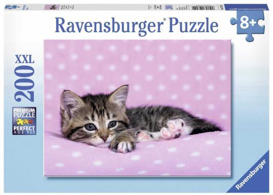 Пазл Котёнок отдыхает XXL 200 шт ravensburger пазл зачарованный лес xxl 100 деталей