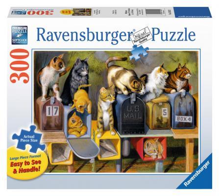 Пазл Ravensburger Почтовые коты 300 элементов 13562