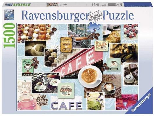 Пазл Ravensburger Кофе и сладости 1500 элементов 16346 пазл 200 элементов ravensburger мой первый питомец 12810