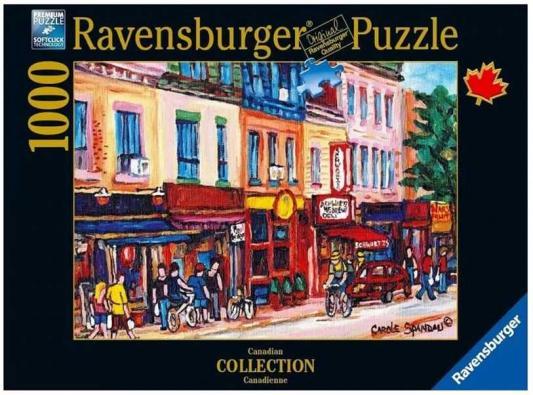 Пазл «Монреаль» 1000 шт ravensburger ravensburger пазл венеция 1000 шт