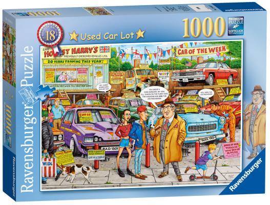 Пазл «Рынок подержанных авто» 1000 шт авто за 1000 грн киев