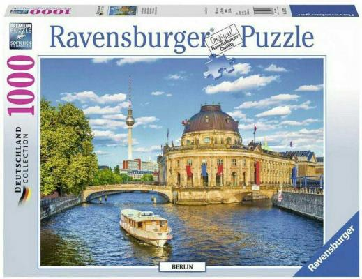 Пазл «Музейный остров в Берлине» 1000 шт ravensburger ravensburger пазл венеция 1000 шт