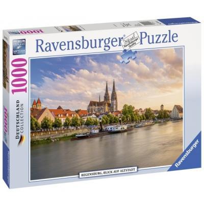 Пазл «Старый город, Равенсбургер» 1000 шт пазлы ravensburger паззл маяк на полуострове брус 1000 шт