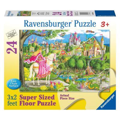 Купить Пазл Однажды в сказке 24 шт (размер картинки 90*60см) #, Ravensburger, Пазлы-картины