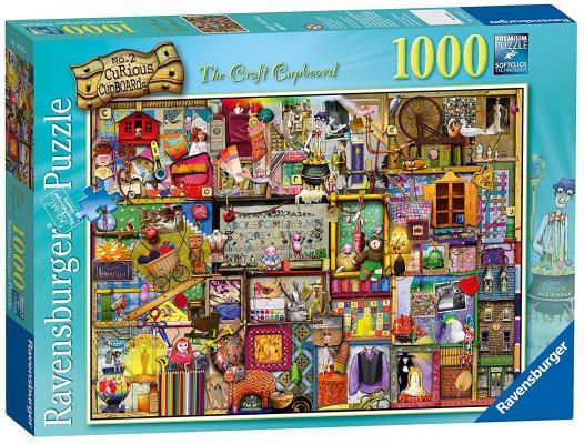 Пазл «Шкаф рукодельницы» 1000 шт ravensburger ravensburger пазл венеция 1000 шт