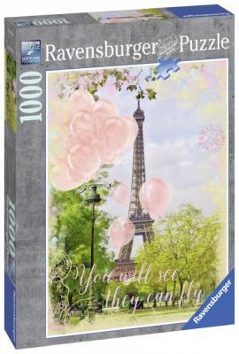 Пазл «Мечты о Париже» 1000 шт пазл ravensburger озеро эйб 1000 элементов