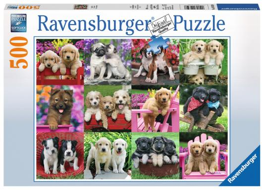 Пазл Ravensburger Друзья-щенки 500 элементов 14659