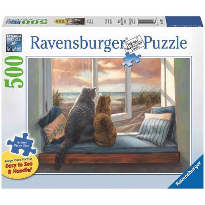 Пазл «Друзья у окна» 500 шт # ravensburger пазл друзья у окна 500 деталей
