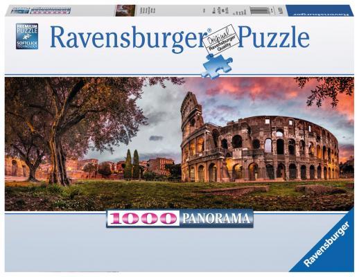Пазл панорамный Колизей на закате 1000 шт пазлы ravensburger пазл панорамный пляжные корзинки на зюлте 1000 элементов