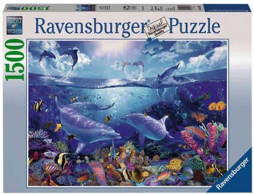 Пазл «Жизнь дельфинов» 1500 шт # пазл ravensburger сейшелы 1500 элементов