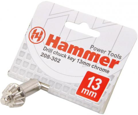 Фото - Ключ для патрона Hammer Flex 208-302 CH-key 13мм для патрона 13мм 1set 2pcs ic 2262 2272 4 ch 315mhz key wireless remote control kits receiver module for arduino