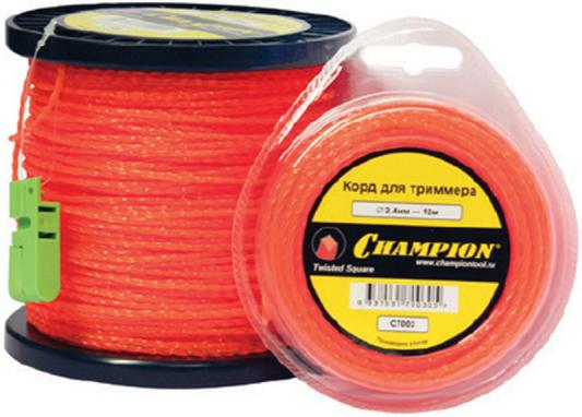 Корд трим. CHAMPION C5057 Square Twist DUO 2.4мм 12м витой квадрат корд трим champion square twist duo 3 0мм 168м витой квадрат