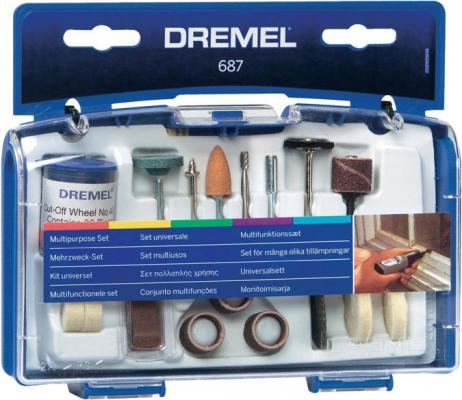 Набор насадок DREMEL 687 для дома набор насадок для выжигания dremel 204