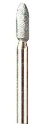 Насадка DREMEL 83322 шлифовальный камень, из карбида кремния, 3.2мм хв.3.2мм, 3шт. насадка dremel 953 шлифовальный камень из оксида алюминия 6 4мм хв 3 2мм 3шт