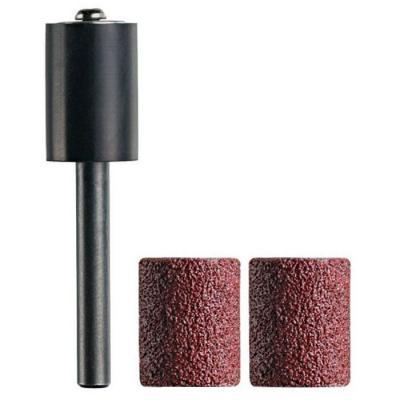 Насадка DREMEL TR407 шлифовальная, 13мм хв.4.8мм для TRIO + две трубки P60 набор насадок для шлифовки dremel tr407