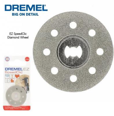 Круг отрезной алмазный DREMEL SC545 SPEED CLIC 38мм без держателя алмазный отрезной круг dremel 38мм sc545 ez speedclic 2615s545jb