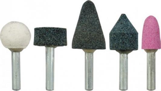 Шарошка FIT 36467 абразивные для фигурных отверстий по камню 5 шт (большие)