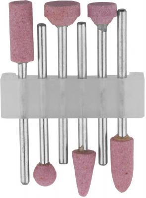 Набор STAYER 29920-H6 насадки шлифовальные абразивные с оправкой оксид алюминия 6шт. набор stayer 29921 h6