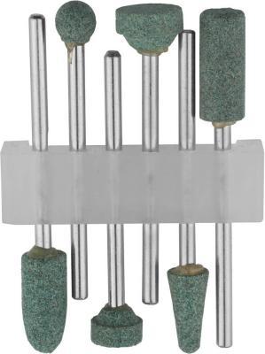 Набор STAYER 29921-H6 насадки шлифовальные абразивные с оправкой карбид кремния 6шт.