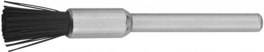цена на Кордщетка ЗУБР 35929 нейлоновая кистевая на шпильке d5.0x3.2мм L43.0мм 1шт.