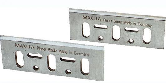 Нож для рубанка MAKITA D-16346 82мм, 2шт., для 1901,1902,1923Н,KP0810,KP0800 рубанок makita kp0800