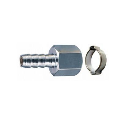 Переходник FUBAG 180252 1/4F на елочку 10мм с обжимным кольцом 10х15мм flm1414 4f 1pcs
