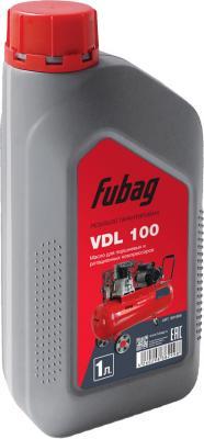 Минеральное компрессорное масло Fubag VDL 100 1 л 991899 масло fubag super chain 1l 838268