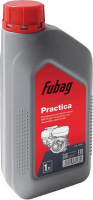 Минеральное моторное масло Fubag Practica 1 л 838266 масло fubag super chain 1l 838268