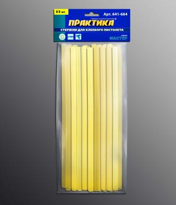 Стержни для клей-пистолета ПРАКТИКА 641-657 желтый, 80C, 11х200мм, 16шт бюстгальтер patti belladonna белый 80c ru